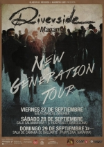 RIVERSIDE: The New Generation Tour aterriza en España